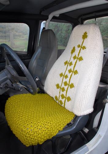 araba koltuğu kılıfı örgü modeli
