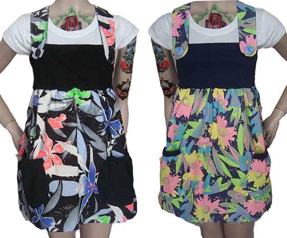 Vestido Verano 2008 Jumper Fluo