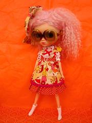 Acid Lolita Noise #1 (pbrigitte zombuki) Tags: orange japanese doll mohair pullip bhc junplanning papin