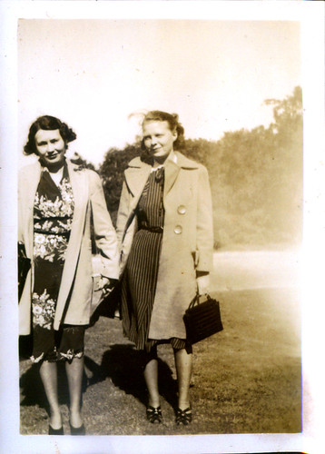 Two Women and coats