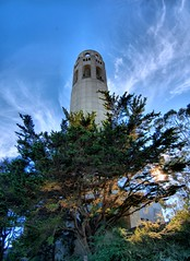 Coit Tower (Soller Photo) Tags: sanfrancisco california light tower photography exposure coittower telegraph hdr coit blueribbonwinner anawesomeshot sollerphoto telelgraphhill
