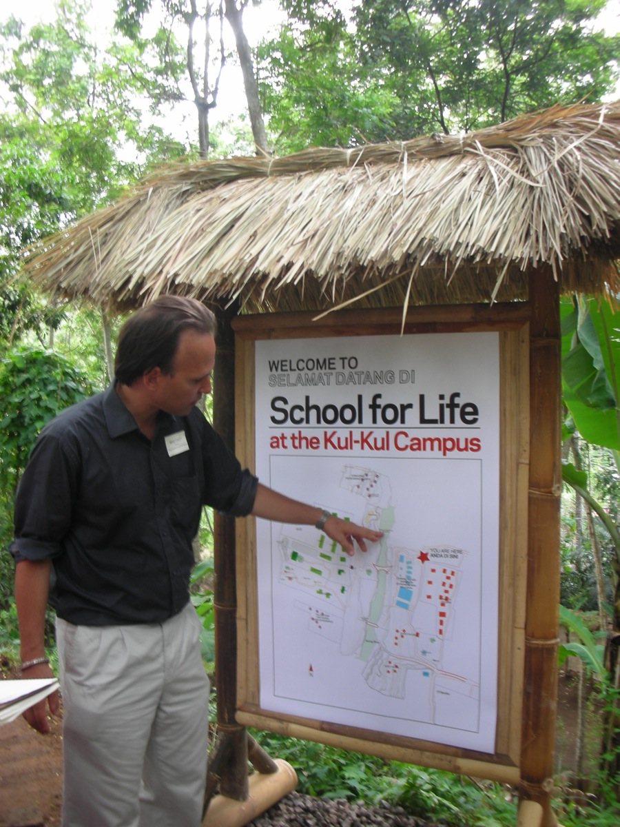 Brad Choyt, Schule fürs Leben Bali, Ubud