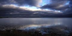 Kalmarsund (d.lindholm) Tags: winter seascape nature clouds reflections landscape photo europe sweden shoreline balticsea kalmar nikon18200mm kalmarsund nikond40x