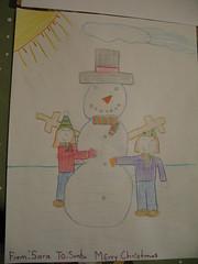 Drawing for Santa
