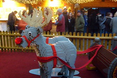 renne di lego-berlin (cHia^) Tags: christmas trip travel berlin art animal animals lego journey natale viaggi viaggio silvester vacanza capodanno berlino