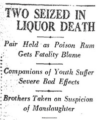 Death Potion Headline