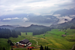 Swiss landscape (bekahpaige) Tags: mountain green fog landscape switzerland countryside europe view swiss luzern paisagem pilatus lucerne skyway mtpilatus naturesfinest supershot mywinners anawesomeshot colorphotoaward impressedbeauty aplusphoto superbmasterpiece travelerphotos diamondclassphotographer flickrdiamond photofaceoffwinner