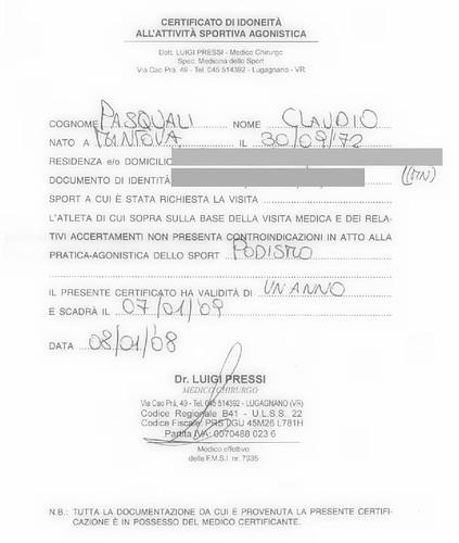 2008-01-08 Certificato di idoneità all'attività sportiva agonistica - coperto