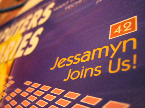 Jessamyn Joins Us
