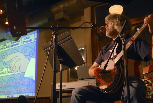 J.R.'s banjo debut