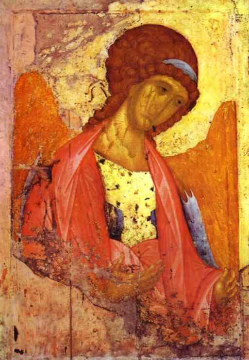 RUBLEV, Andrei Archangel Michael c1420s