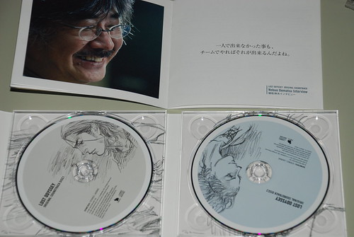 LOST ODYSSEY SOUNDTRACK DISC and Booklet