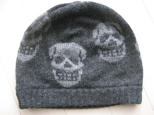 Hysteric Glamour's sweater and knit cap