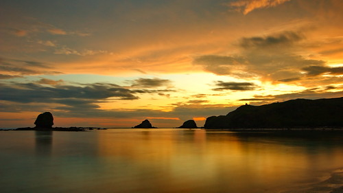 Golden Light, Kuta Beach Lombok Indonesia