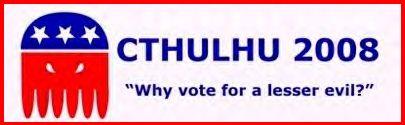 Cthulhu 2008 Bumper sticker