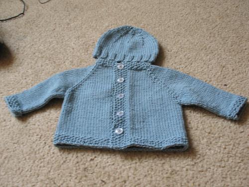 Baby Set (Hat & Cardi)