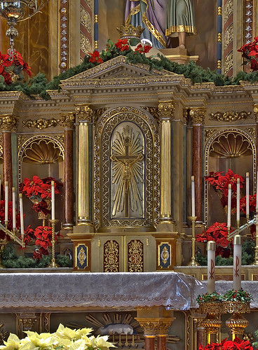 Saint Joseph Shrine, in Saint Louis, Missouri, USA - tabernacle