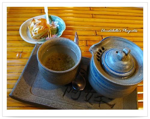 九分阿妹茶酒樓桂花蜜茶