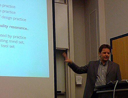 Erik Stolterman at CMU