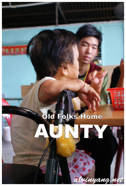 Old Folks Home Aunty