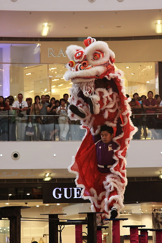 Leap, Lion Dance @ Pavilion KL