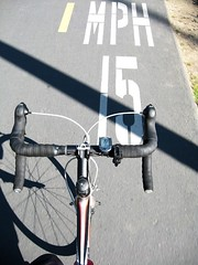 Los Gatos Creek Trail 15 mph