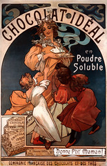 Chocolat Idal (Bibi) Tags: food art vintage print advertising poster arte candy propaganda antique chocolate ad hotchocolate artnouveau mucha doce cartaz afiche chocolat affiche antigo gourmandise 1897 alfonsmucha xixcentury gourmandises chocolatequente guloseima alphonsemariamucha chocolatidal