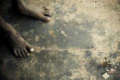 Pieds nus - Barefoot - Mumbai, India 2008