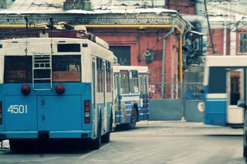 Троллейбусный парк
