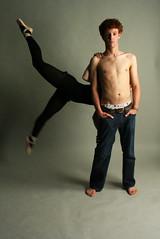 (EECCNN) Tags: lighting boy portrait girl studio dance jump lift dress daniel dancer miranda partner
