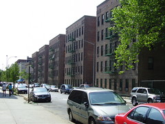 Public housing in Alphabet City by MaxVT, on Flickr