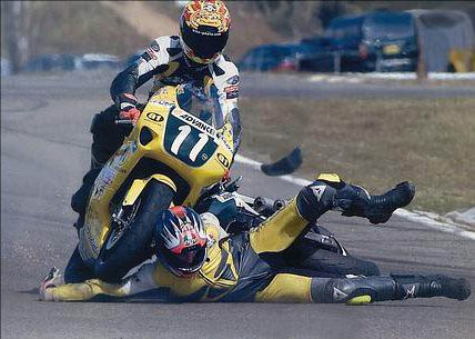 Motorcyclist vs. Motorcycle
