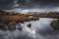 Incoming (Vemsteroo) Tags: 24mm 5dmkiii autumn borrowdale canon cumbria derwentwater dramatic lrthefader lakedistrict morning mountains outdoors snow sunrise winter storm beautiful nature reeds lake water cloudy thenorth exploring travel reflection skiddaw leefilters