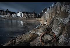 Dark Harbour (ScottSimPhotography) Tags: stonehaven scotland harbour harbor sea water coast town uk britain winter dark stone perspective cold visit travel scottish aberdeenshire