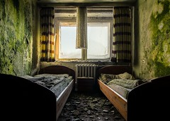 hotel dk (Captured Entropy) Tags: hotel abandoned decay lostplace urbex bed window sun derelict mold green