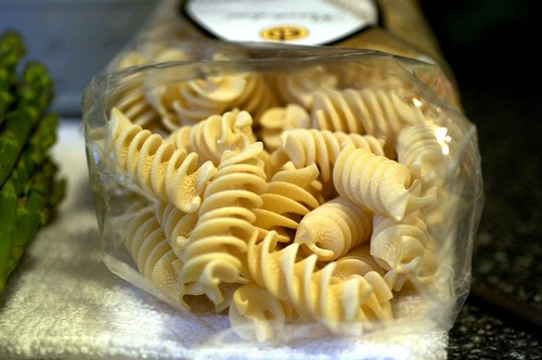 giant spiral pasta