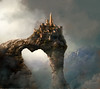 La fortezza (simpli58) Tags: mountains fog clouds landscape fort digitalart dreamcatcher fortezza mattepainting idream thebestofday gününeniyisi altrafotografia redmatrix —obramaestra—