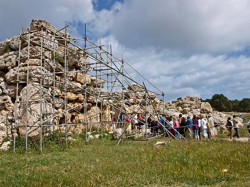 Gozo - Ggantija temples (2)