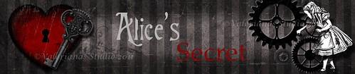 Banner Alice´s Secret