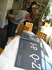 Paul inspects the letters