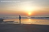 Beach Walk at Dawn, Inspirational Sunrise Amelia Island