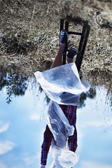 Unfamiliar upsidedown. (David Talley) Tags: field air wrapped down blah upside breathing tarp constricted brookeshaden nicholasmax