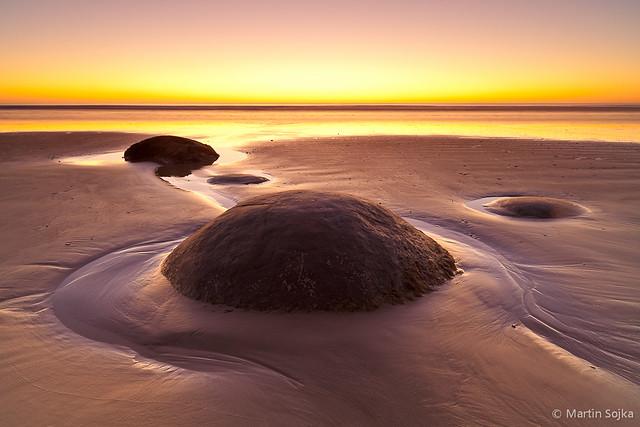Moeraki Boulders ~ New Zealand