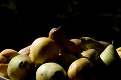 Fruit (Guillermo Galan) Tags: light orange tree apple nature collage fruit shadows darkness highlights fruta pear apricot bodegon