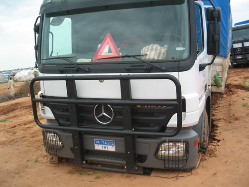 mercedes truck sudan