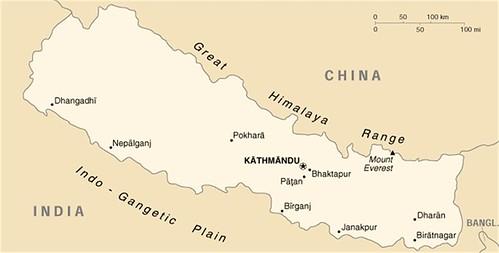 Map Of Nepal 2