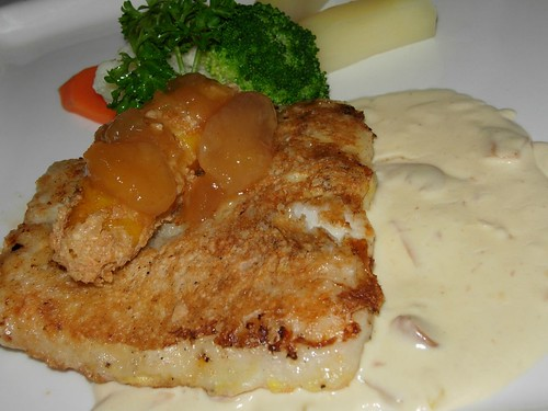 fish with cream