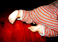 stripes (*kiwikiss) Tags: baby feet barefoot crawling littlefeet babysfeet crawlingbaby colourartaward