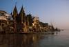 Benares Ganges 3 (JR Hall) Tags: travel india film scanned varanasi benares india1998