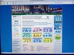 Minneapolis community portal detail